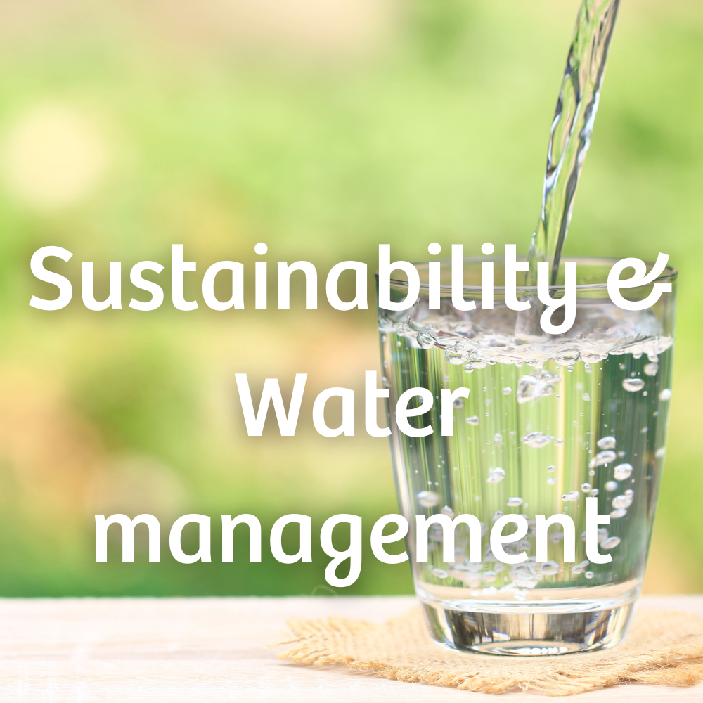 Sustainability & Water management